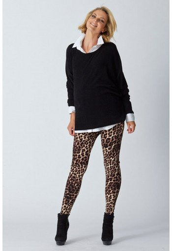 Cheetah Maternity Leggings