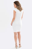 Grace Tailored Maternity Dress