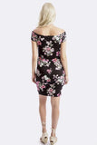 Chloe Maternity Dress in Midnight Floral