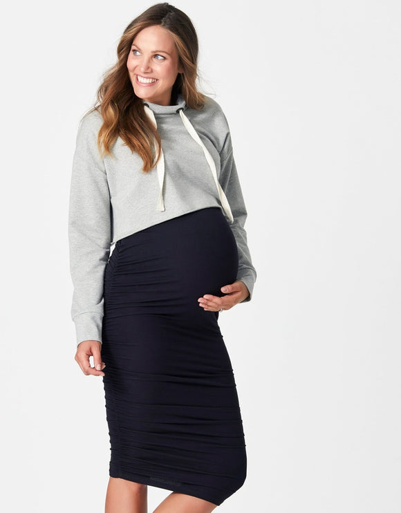 Bailey Gather Pencil Skirt