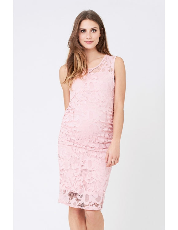 Eden Lace Dress - Pink