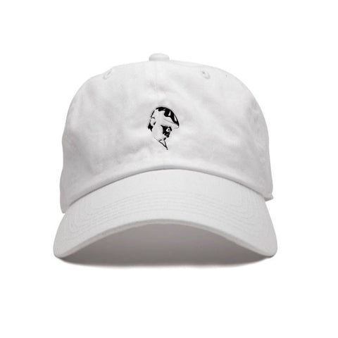 By Any Memes Big Dad Hat In White - Fresh N Fitted