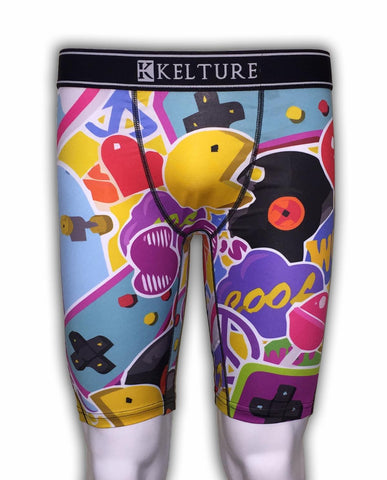 KLTURE Pacman Men's Boxer Shorts (K920) - Fresh N Fitted