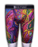 KLTURE Psychedelic Men's Boxer Shorts (K920) - Fresh N Fitted