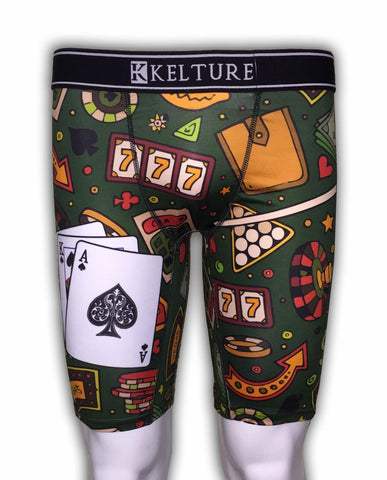 KLTURE Poker Table Men's Boxer Shorts (K920) - Fresh N Fitted