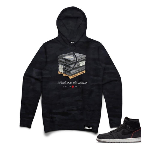 Hasta Muerte To The Limit Hoodie (Black/Camo)