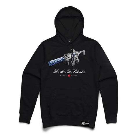 Hasta Muerte Hustle In Silence Hoodie (Black)