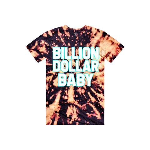 Billion Dollar Baby Logo Tie-Dye T-Shirt