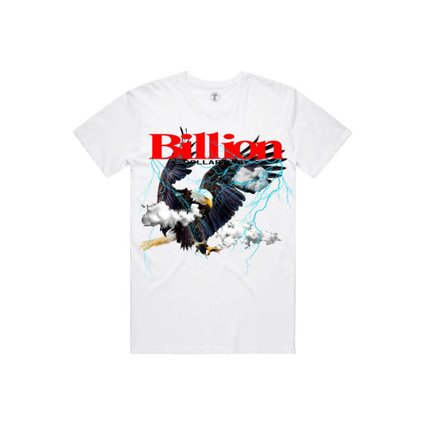 Billion Dollar Baby 'Eagle' T-Shirt (White)