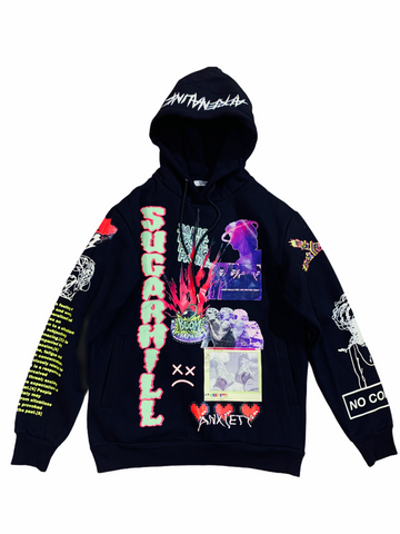 Sugarhill 'Anxiety' Hoodie (Black)