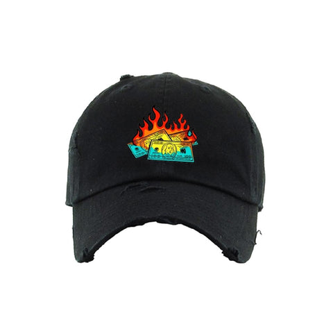 OUTRANK Too Much To Burn Hat (ORH146) - Fresh N Fitted
