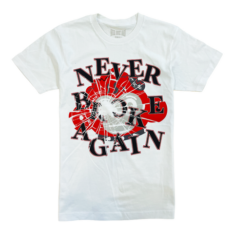 NBA 'Shattered' T-Shirt (White)