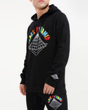 Black Pyramid Colors Drip Logo Hoody - Fresh N Fitted