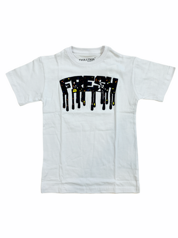 Evolution Kids 'Fresh' T-Shirt (White)
