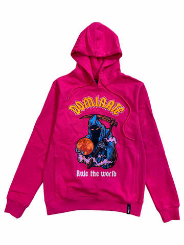Roku Studio 'Dominate' Hoodie (Hot Pink)