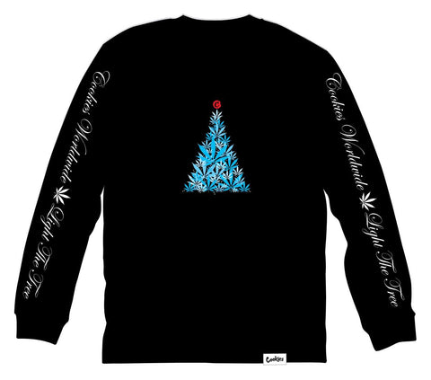 COOKIES SPARK THE TREE L/S TEE - Fresh N Fitted