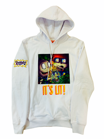 Freeze Max x Nickelodeon 'It's Lit' Hoodie (White)