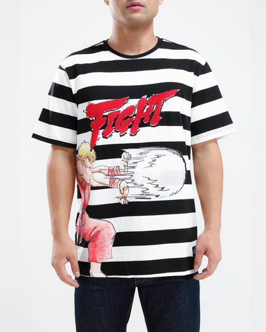 FreezeMax Fight Striped Shirt - Fresh N Fitted