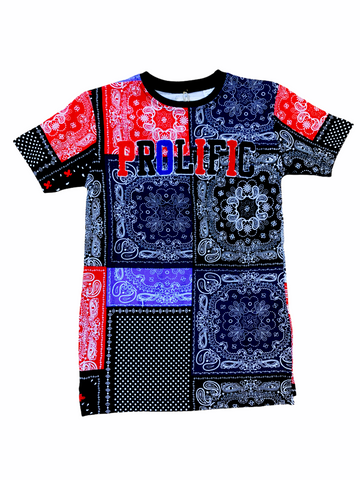 FWRD Kids 'Prolific' T-Shirt (Red Multi)