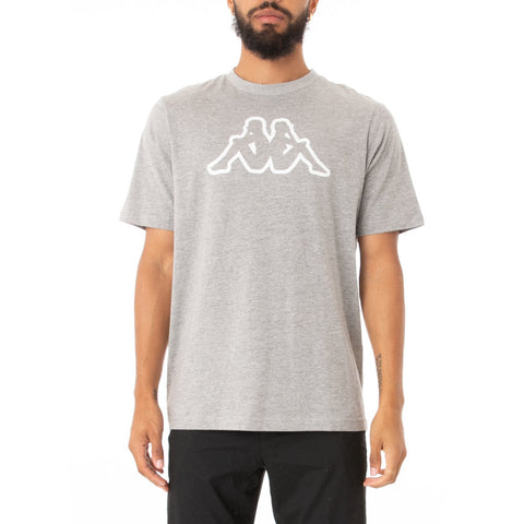 Logo Fleece Cromok T-Shirt (Grey)