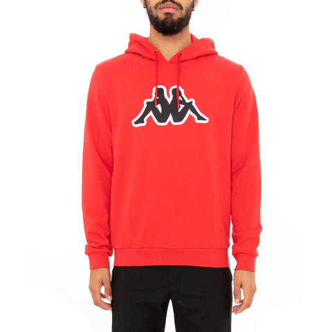 Logo Fleece Aiok Hoodie (Red Coral)