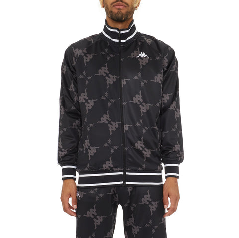 Kappa 'Authentic Belice' Track Jacket (Black/Grey)