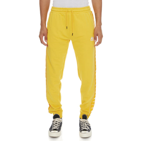 Kappa '222 Banda Alanz 3' Sweatpants (Yellow)