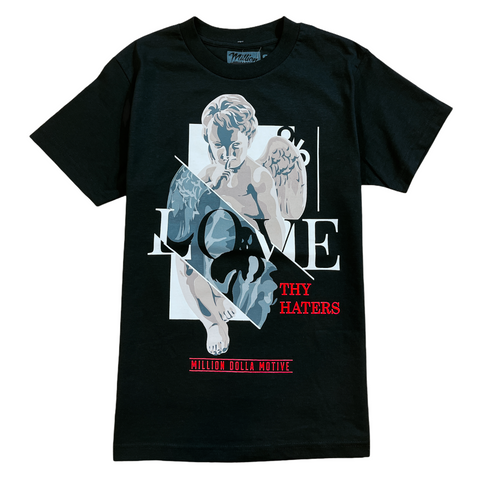 Million Dolla Motive 'Love Thy Haters' T-Shirt (Black)