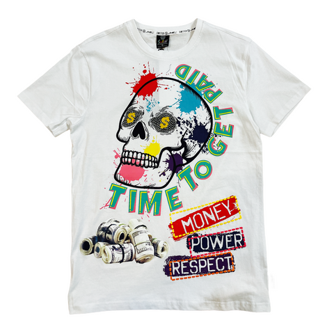 Switch 'Time To Get Paid' T-Shirt (White)