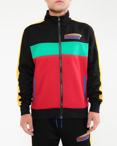Black Pyramid Orbit Logo Track Jacket - Fresh N Fitted