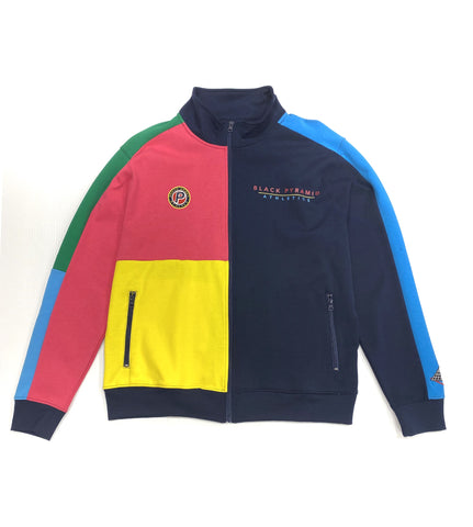Black Pyramid Track Jacket Multi Color Y6161434 - Fresh N Fitted