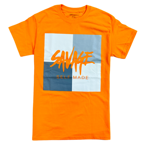 3Forty Inc. 'Savage' T-Shirt (Orange)