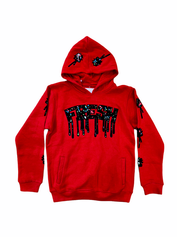 Evolution Kids 'Fresh' Hoodie (Red)