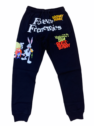 Freeze Max x Looney Tunes 'Forever Frenemies' Sweatpants (Black)