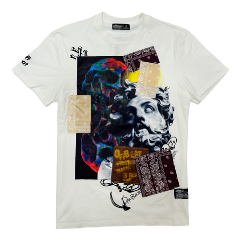 Offbeat 'Imagine' T-Shirt (Off White)