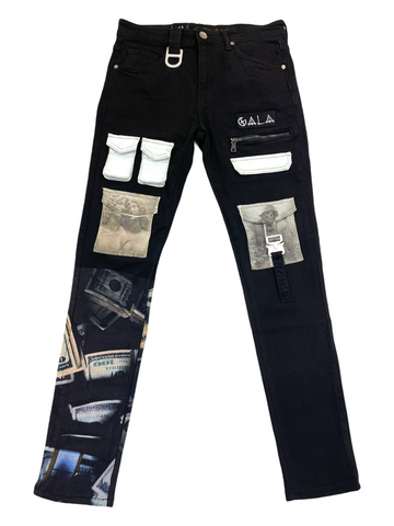 Gala 'Raid' Tactical Denim (Black)