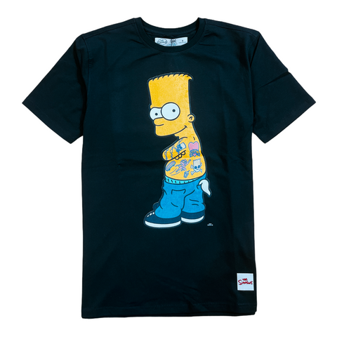 Freeze Max 'Tattooed Bart' T-Shirt (Black)