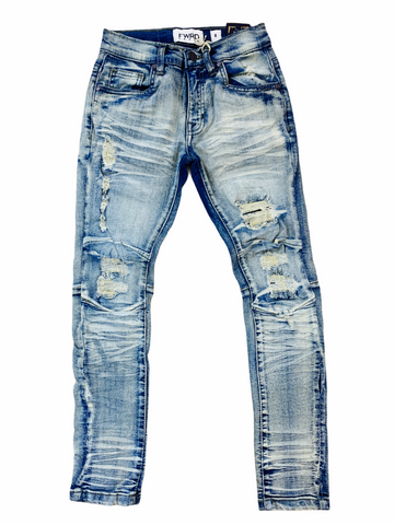 FWRD Kids Distressed Denim (Lt.Tint)