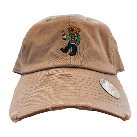 'Henny Bear' Dad Hat (Grey)