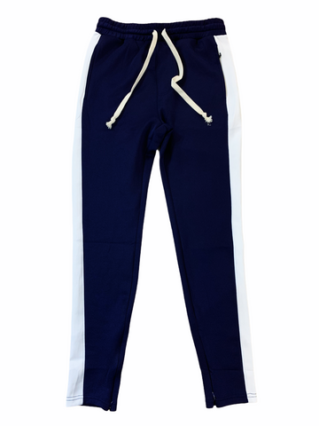 HUGE Track Pants (Navy/White)