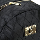 COOKIES V3 QUILTED NYLON SMELL PROOF BACKPACK W/ MICRO SUEDE & GOLD TRIM - Fresh N Fitted