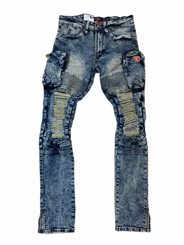 Frost Originals Cargo Denim (Vintage Wash)