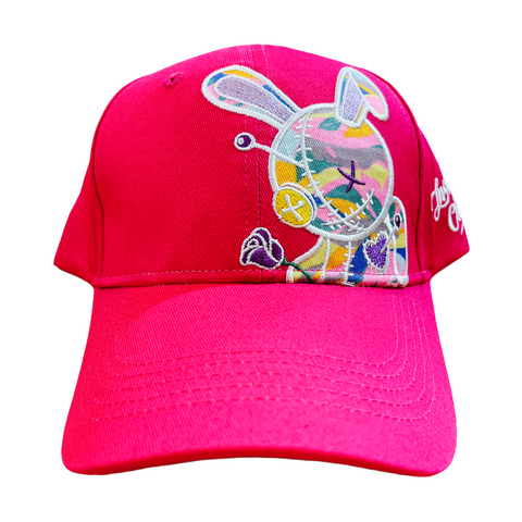 BKYS 'Lucky Charm' Dad Hat (Hot Pink)