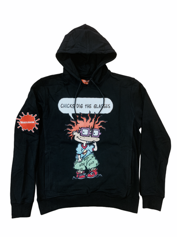 Freeze Max x Rugrats 'Chicks Dig the Glasses' Hoodie (Black)