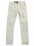 Waimea Distressed Denim (Bone)