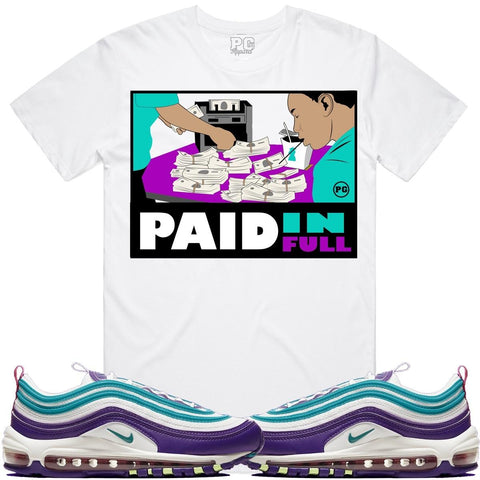 PG Apparel PAID FULL Tee - White - Fresh N Fitted