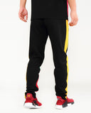 Black Pyramid Orbit Logo Track Pants - Fresh N Fitted