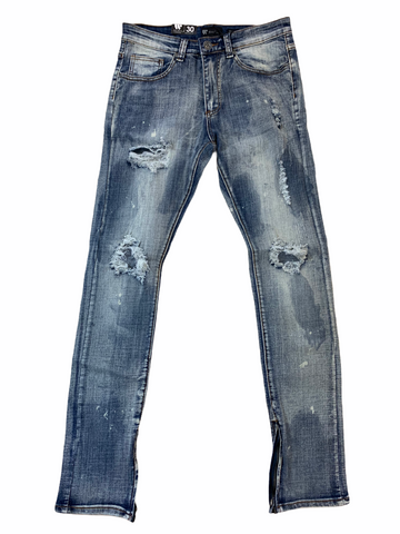 Waimea Ripped Denim (Dirty Bleach)