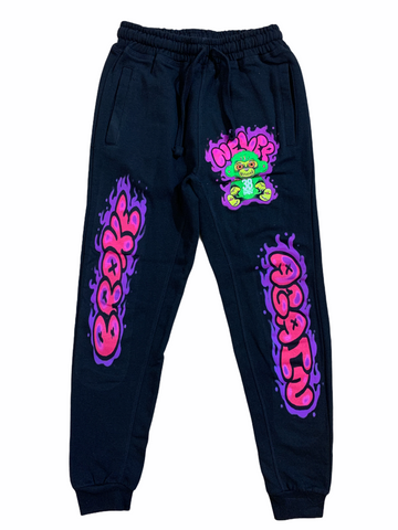 NBA Kids 'Evil Monkey' Joggers (Black)