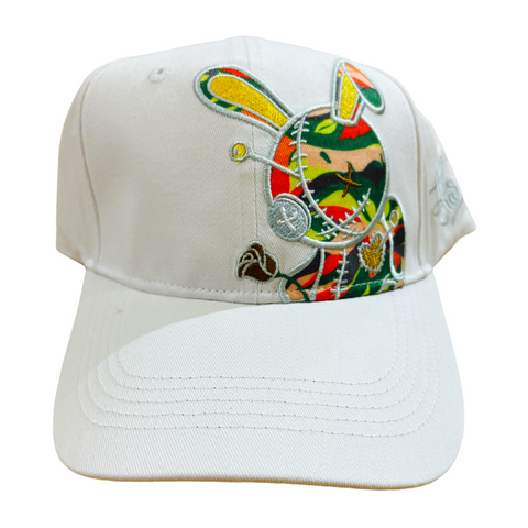 BKYS 'Lucky Charm' Dad Hat (White)